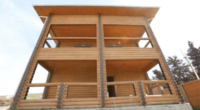 Novxanıda tikilməkdə olan yaşayış binası